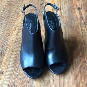 White House Black Market peep toe size 8 women's
